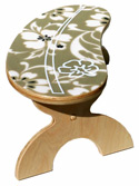 hawaiian floral step stool