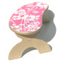 Pink Hawaiian Step Stool