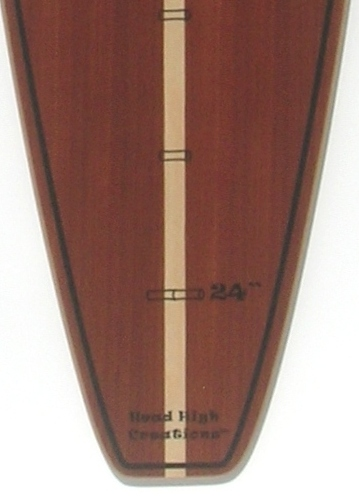 Woody Dark Surfboard Growth Chart