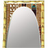 Tan Vintage Boards Tiki Surfboard Mirror